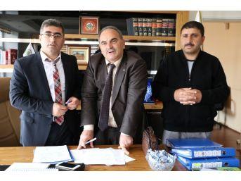 Varto Belediyesinde Toplu İş Sözleşmesi Sevinci