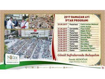 İlk İftar Sofrası Fatih Sultan Mehmet Cami Açılışıyla Yapılacak