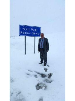 Rize'Nin Yuksek Kesiminde Kar Yağışı...