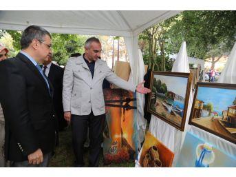 Kırkpınar Kültür Merkezi Sergisi Açıldı