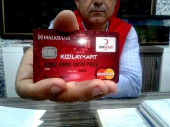 Silopi'de Kızılay'dan 500 Aileye Gıda Kartı