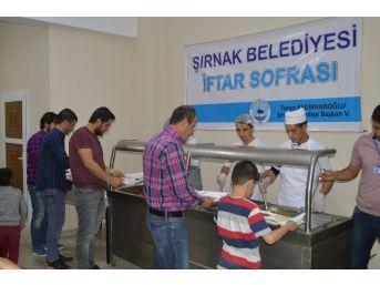 Şırnak'ta İlk İftar Açıldı