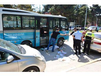 Tokat'ta Minibüs Yaşlı Kadını Ezdi