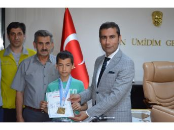 Adıyamanlı Ahmet Muhammed Atıcılıkta Türkiye Rekoru Kırdı