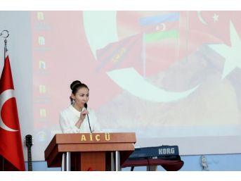 Aiçü'de Türk Dünyası Kültür Günü Programı