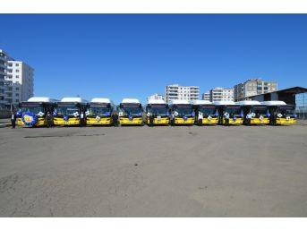 Çevre Dostu 10 Yeni Otobüs Halkın Hizmetinde