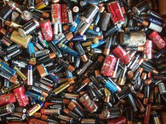 Düzce 'de 2 Ton Atık Pil Toplandı