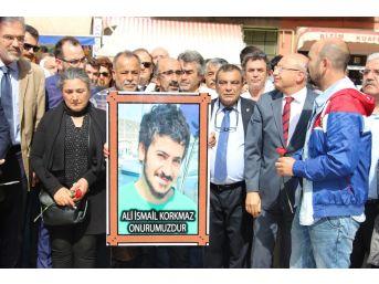 Gezi Eylemlerinin 4'üncü Yıl Dönümünde Ali İsmail Korkmaz Anması Yapıldı