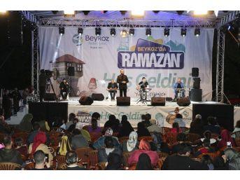 Beykozlular, Ramazan'da Mustafa Cihat Konserinde Buluştu