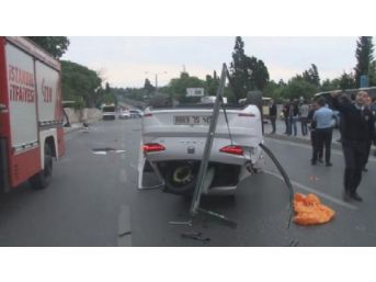 Eyüp'te Kaza: 1 Ölü, 1 Yaralı