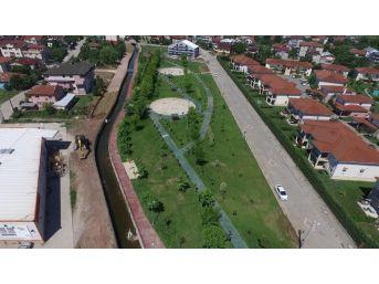 Kartepe'de Kanal Park Projesi Hızla İlerliyor
