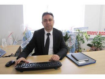 Hisarcık Ziraat Bankası Şube Müdürü Çiğdem, Göreve Başladı