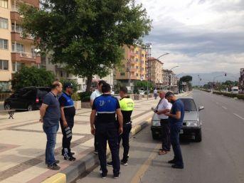 Polis Ve Zabıtadan Huzurlu Sokaklar Uygulaması
