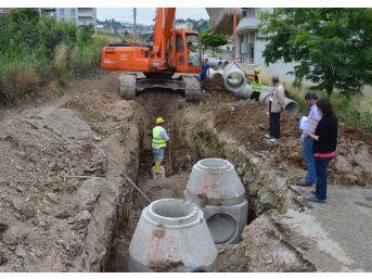 Samsun'da 4 İlçeye 25 Kilometrelik Alt Yapı Yatırımı