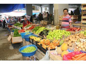 Devrek'te Pazar Ve Marketlerde Ramazan Hareketliliği