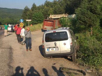 Zonguldak'ta Trafik Kazası 1 Yaralı