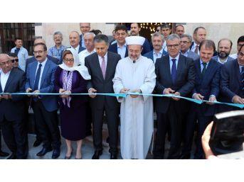 Kaynak Ve Görmez, Tarihi Caminin Açılışını Yaptı