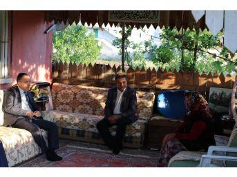 Başkan Saygılı'dan Ramazan Ziyaretleri