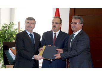 Kırdes Ve Kültürhan Projelerinin Protokolü İmzalandı