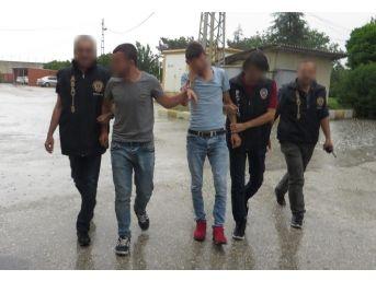 Uşak'ta Tüp Çalan 2 Kişi Tutuklandı