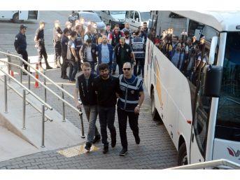 Zonguldak'ta Bahis Operasyonu; 24 Şüpheli Adliyede