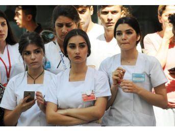 Bitlis Şehidine Hastanede Son Veda