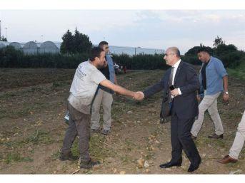 Vali Demirtaş, Tarım İşçilerinin Sorunlarını Dinledi