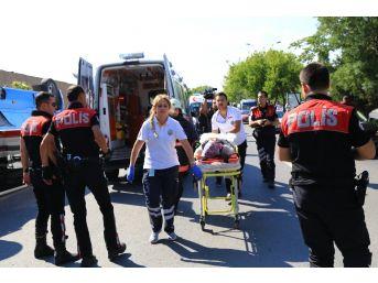Başkentte Dolmuş Kazası: 16 Yaralı