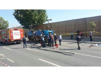 Başkentte Minibüs Kazası; 17 Yaralı (1)