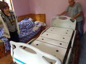 Büyükşehir'den Yatak Yardımı