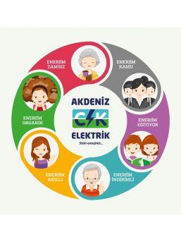 Ck Akdeniz Elektrik'ten, 6 Tarife Seçeneği