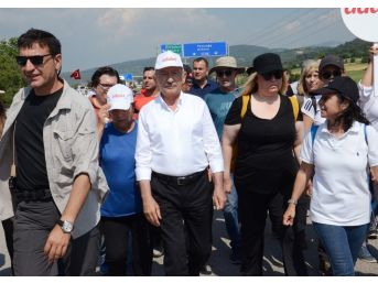 Kılıçdaroğlu'nu Selamlamak İçin Durdu, Üç Araçlı Zincirlemeli Trafik Kazası Yaşandı