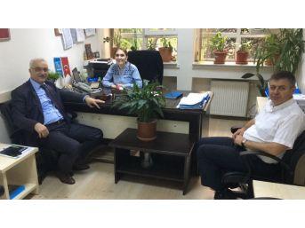 Başkan Tatlıoğlu'ndan Buski'ye Teşekkür Ziyareti