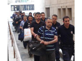 Bursa'Da Fetö'Den Gözaltına Alınan 19 Doktor Adliyede
