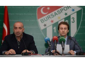 Bursaspor Durmazlar Şemsettin Baş'La Imzaladı