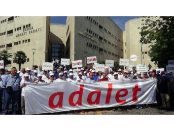 Chp'liler Bursa Adalet Sarayı Önünden 'adalet Yürüyüşü' Başlattı