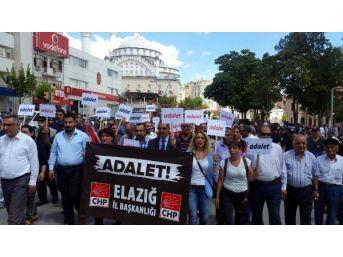 Kılıçdaroğlu'na Elazığ Il Örgütünden Yürüyüş Desteği