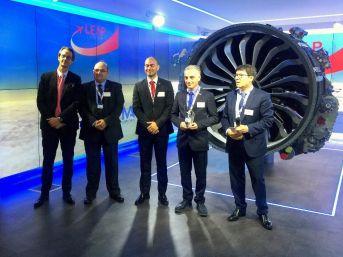 """Teı'ye Paris Air Show'da """"en İyi İş Ortağı Ödülü"""""""