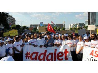Gaziantep'te Kılıçdaroğlu'nun 'adalet' Yürüyüşüne Destek Yürüyüşü