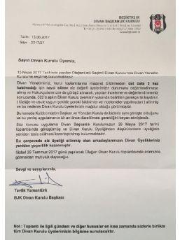 Beşiktaş'ta Divan Kurulu Kaosu Devam Ediyor...