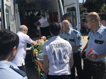 Haliç Metro Köprüsü'nden Atlayan Genç Kızı Vapurun Kaptanı Kurtardı