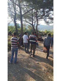 İzmir'de 86 Göçmen Yakalandı