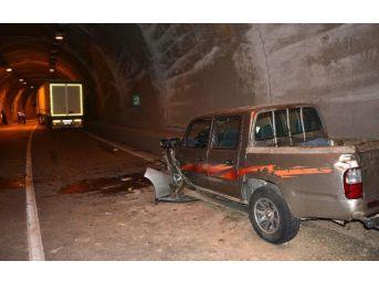 İkizdere Tüneli'nde Zincirleme Kaza: 10 Yaralı