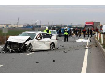 Kırklareli'nde 894 Trafik Kazasında 30 Kişi Hayatını Kaybetti