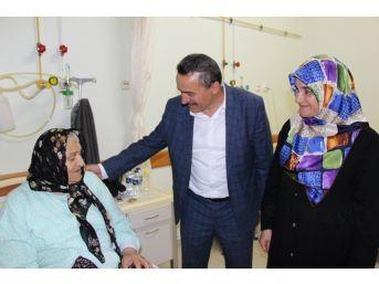 Başkan Tutal, Kadir Gecesinde Hastaları Unutmadı