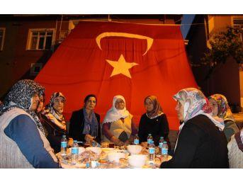 Milletvekili Erdoğan Şehit Ailesiyle İftar Yaptı