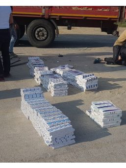 Kula'da 2 Bin 500 Paket Gümrük Kaçağı Sigara Ele Geçirildi