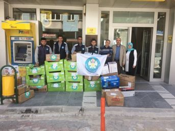 Patnoslu Öğrencilerden Cengiz Ergün'e Teşekkür