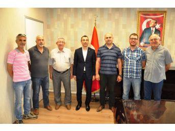 Mgc Milas Temsilcilerinden Kaymakam Arslan'a Ziyaret