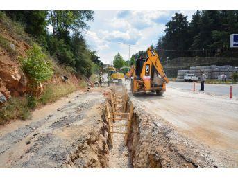Modern Kanalizasyon Hattının 3 Kilometresi Tamamlandı